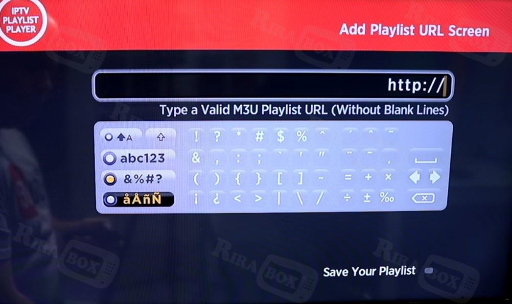 How to setup IPTV on Roku using M3U playlist player – Rira